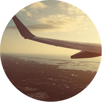 Flying to Vacation Rental