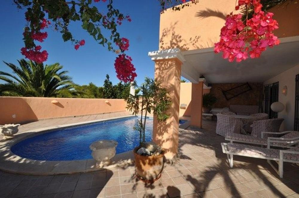 Cala Tarida vacation rental with