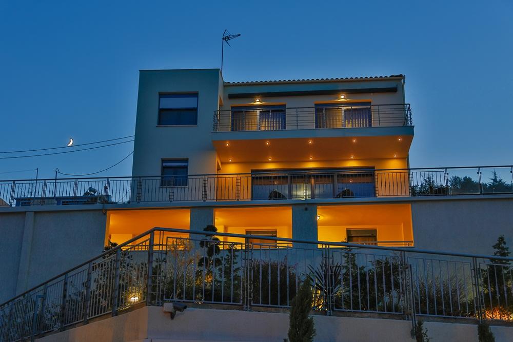 5 Bed Short Term Rental Villa Skiathos