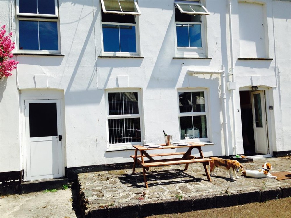 Mevagissey vacation rental with Front outside view