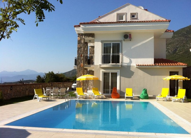3 Bed Short Term Rental Villa Oludeniz