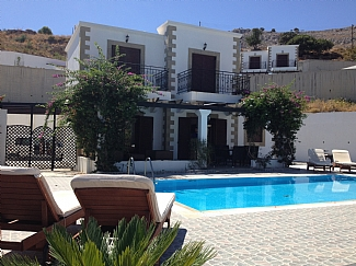 3 Bed Short Term Rental Villa Lindos