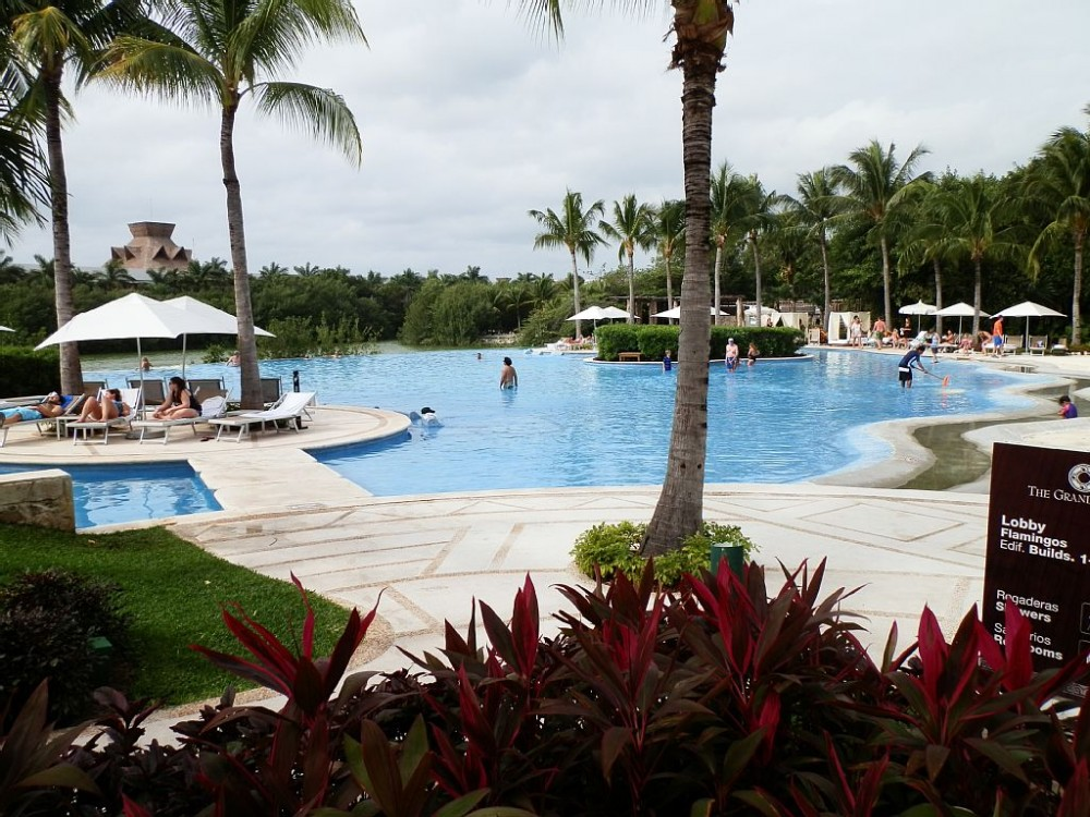 Riviera Maya vacation rental with pool area