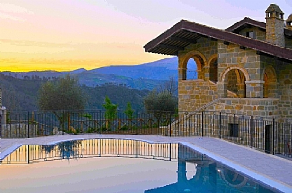Ascoli Piceno vacation rental with External pool at the sunset