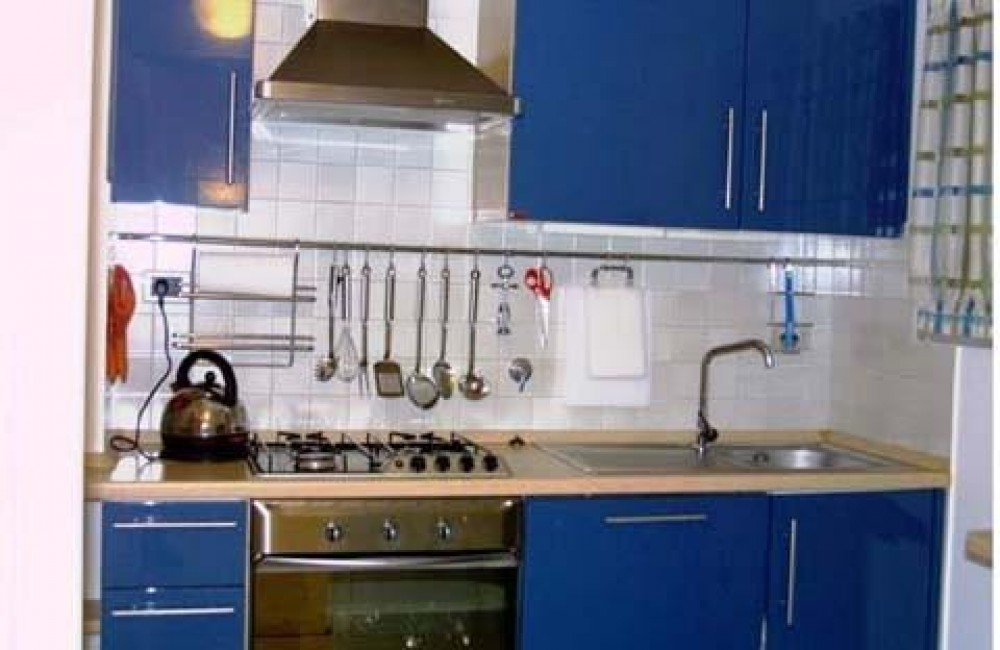 Villefranche Sur Mer vacation rental with wellequipped modern kitchen