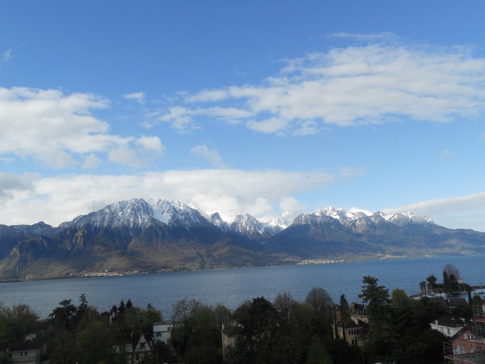 Montreux vacation rental with View from the balcony