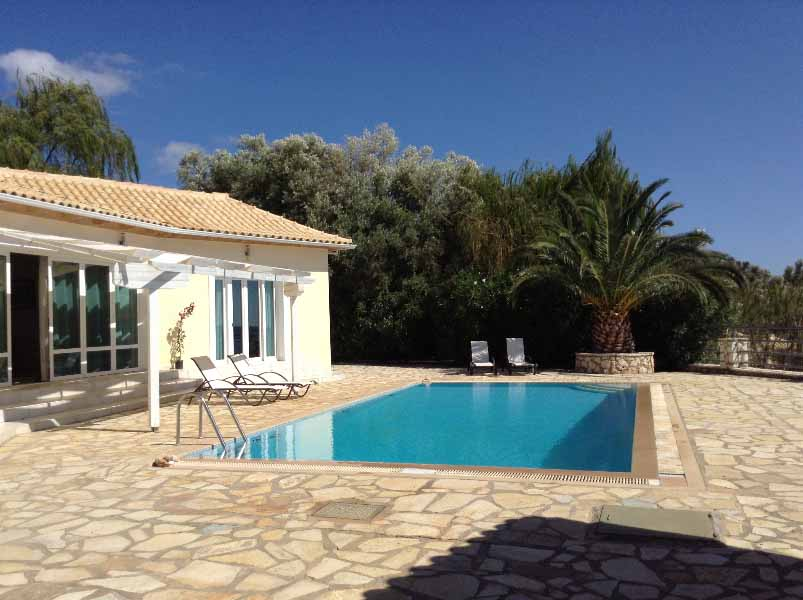 2 Bed Short Term Rental Villa Lefkas