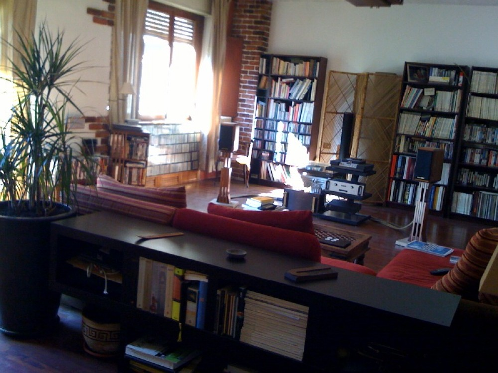Milan vacation rental with the 45 square meters living room