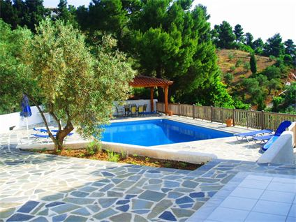 3 Bed Short Term Rental Villa Skiathos