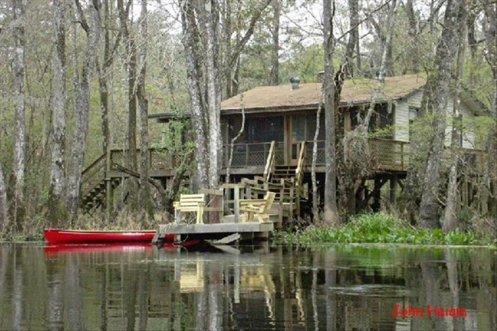 Tallahassee vacation rental with Cabin facing the St. Marks River