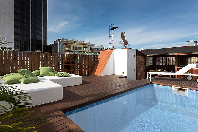 4 Bed Short Term Rental Apartment Barcelona City