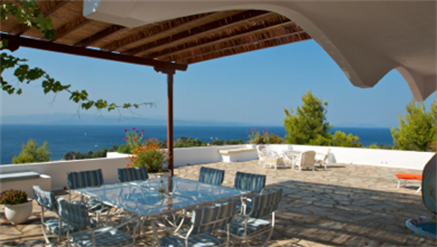 6 Bed Short Term Rental Villa Skiathos