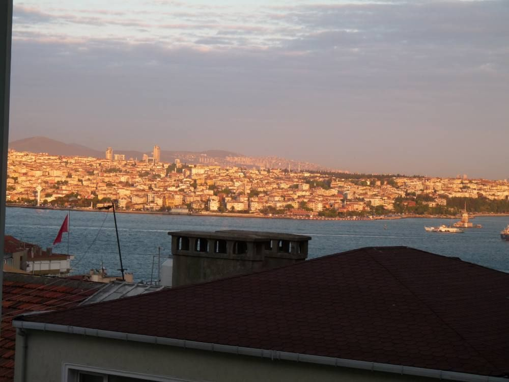 Very close to city center, Bosphorus view and large terrace