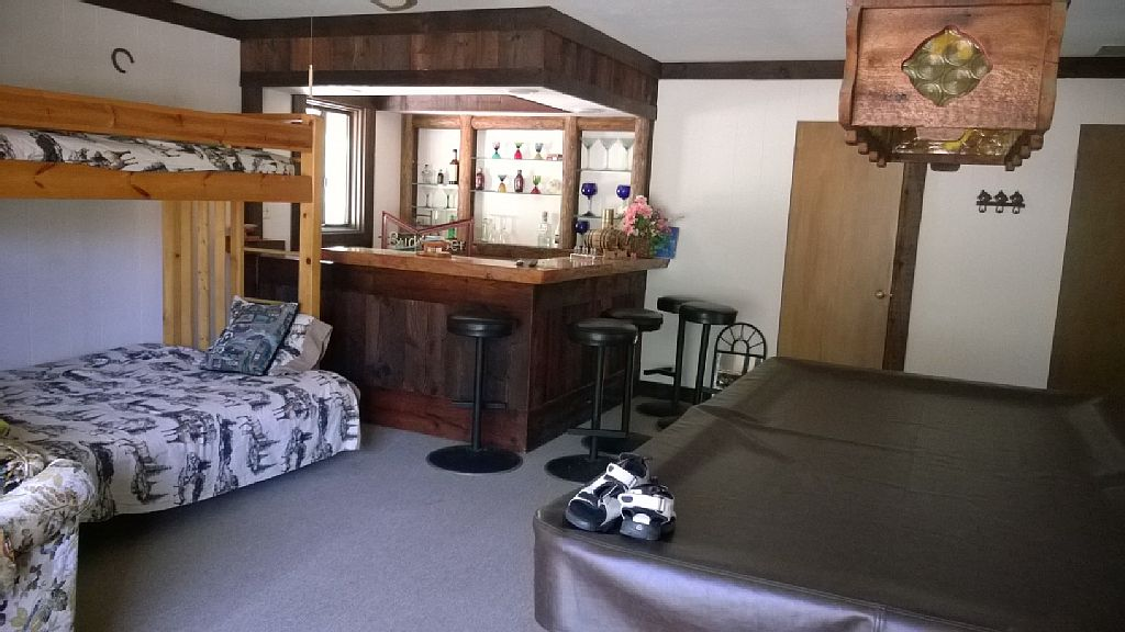 Rec Room with full bar