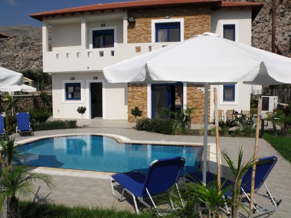 Rhodes vacation rental with Villa Christina