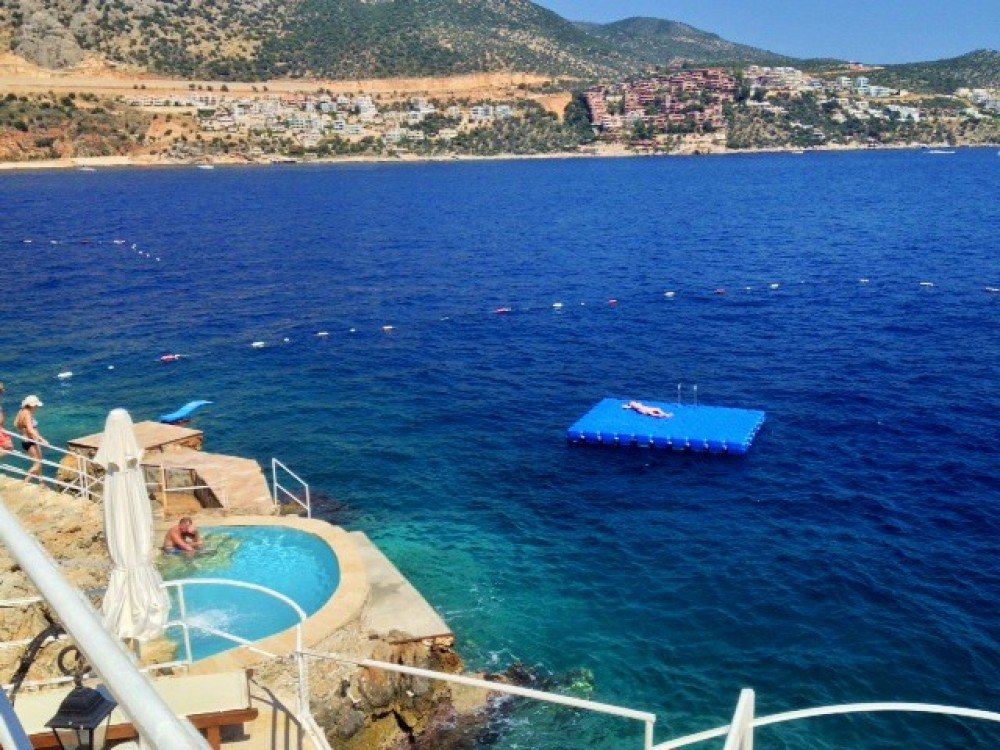 Kalkan vacation rental with Nearest beach club