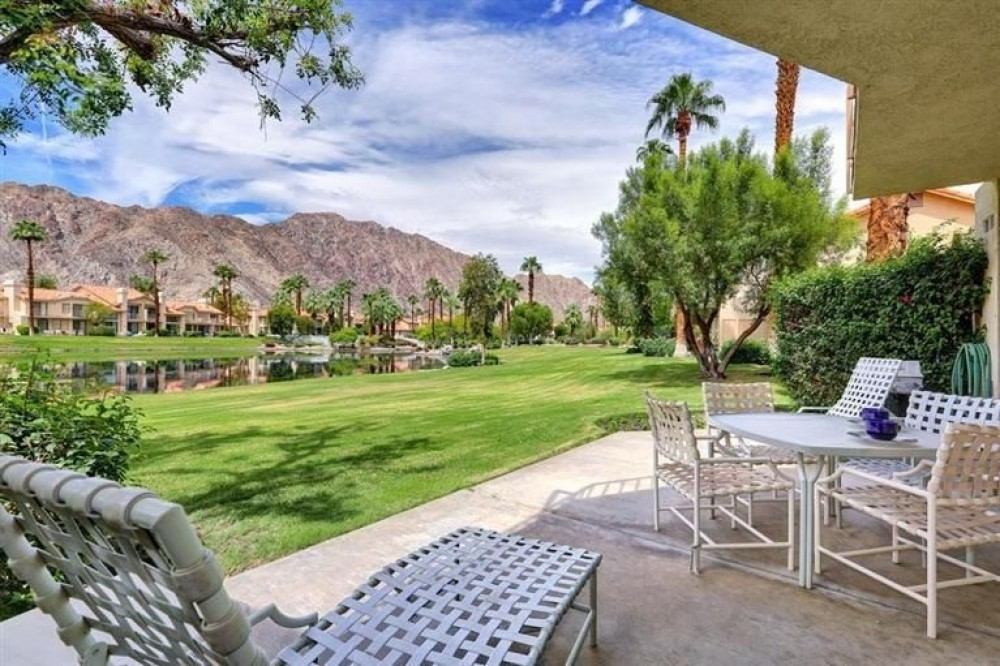 La Quinta vacation rental with Large private patio and balcony