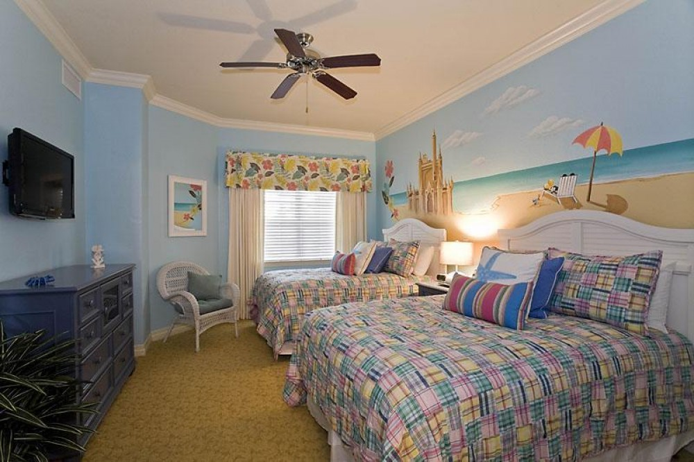 reunion vacation rental with Mickey Themed Bedroom