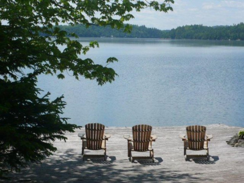 Gracefield vacation rental with View from the Dock