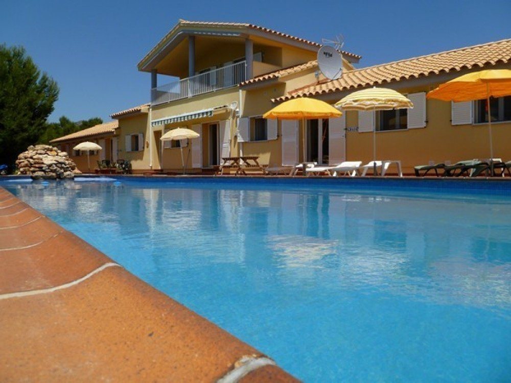 L Ametlla de Mar vacation rental with The front of our villa across the pool