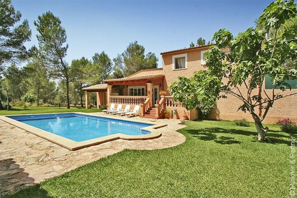 Central Majorca vacation rental with Villa Els Cans Algaida Swiming pool