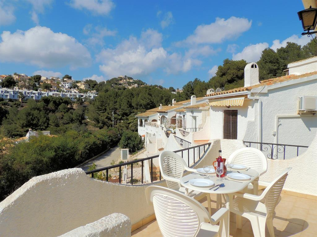 Villa in El Portet With Shared Pool Set In Beautiful Mediterranean Gardens/lovely Sea Views