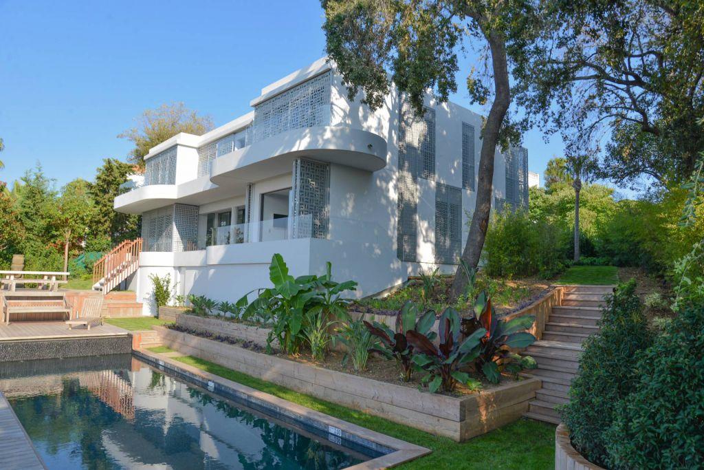 6 Bed Short Term Rental Villa Cap D Antibes