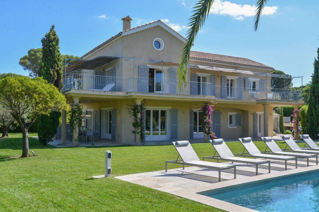 5 Bed Short Term Rental Villa Cap D Antibes