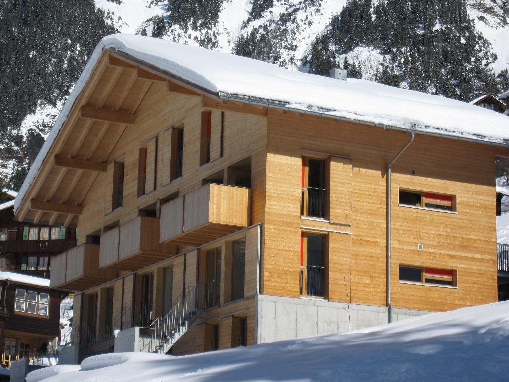 Ski Apartment with spectacular views in Wengen set beneath the jungfrau