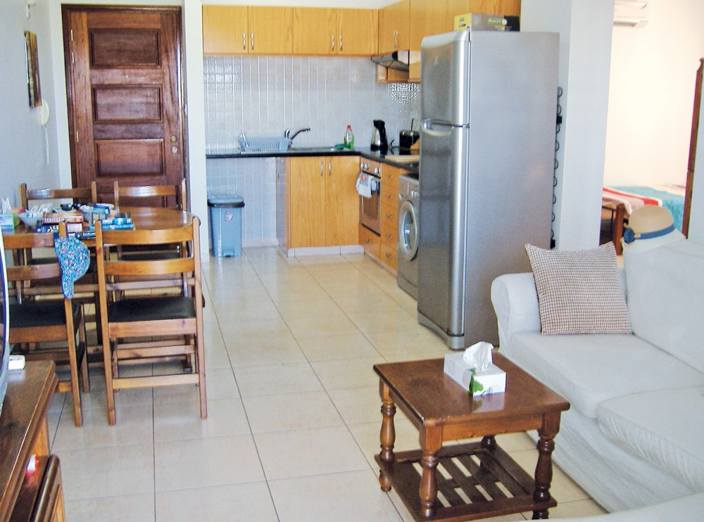 Limassol Town vacation rental with Lounge through to kitchen with dining table