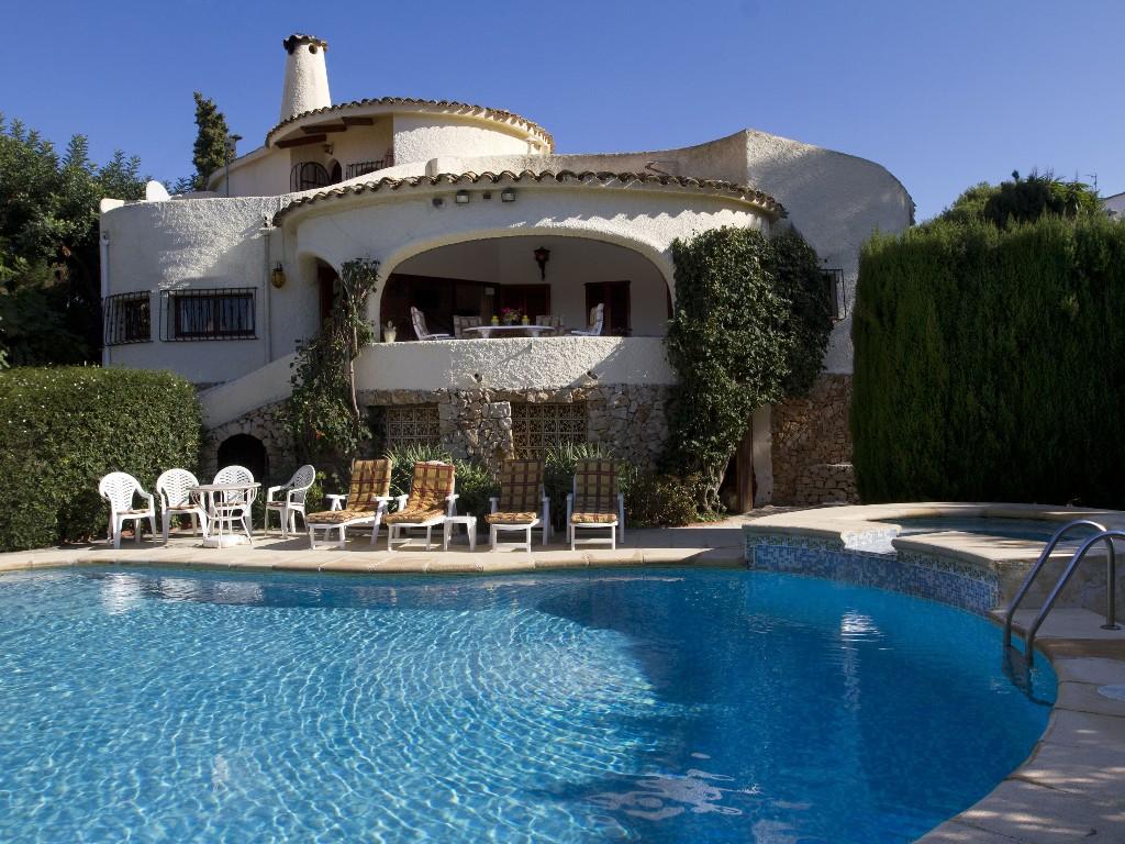 3 Bed Short Term Rental Villa Moraira