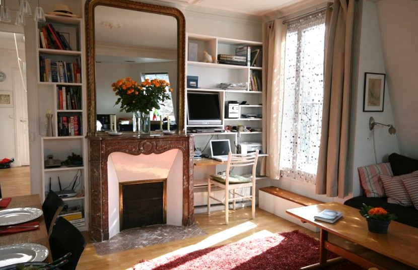 2 Bed Short Term Rental Apartment Central Paris