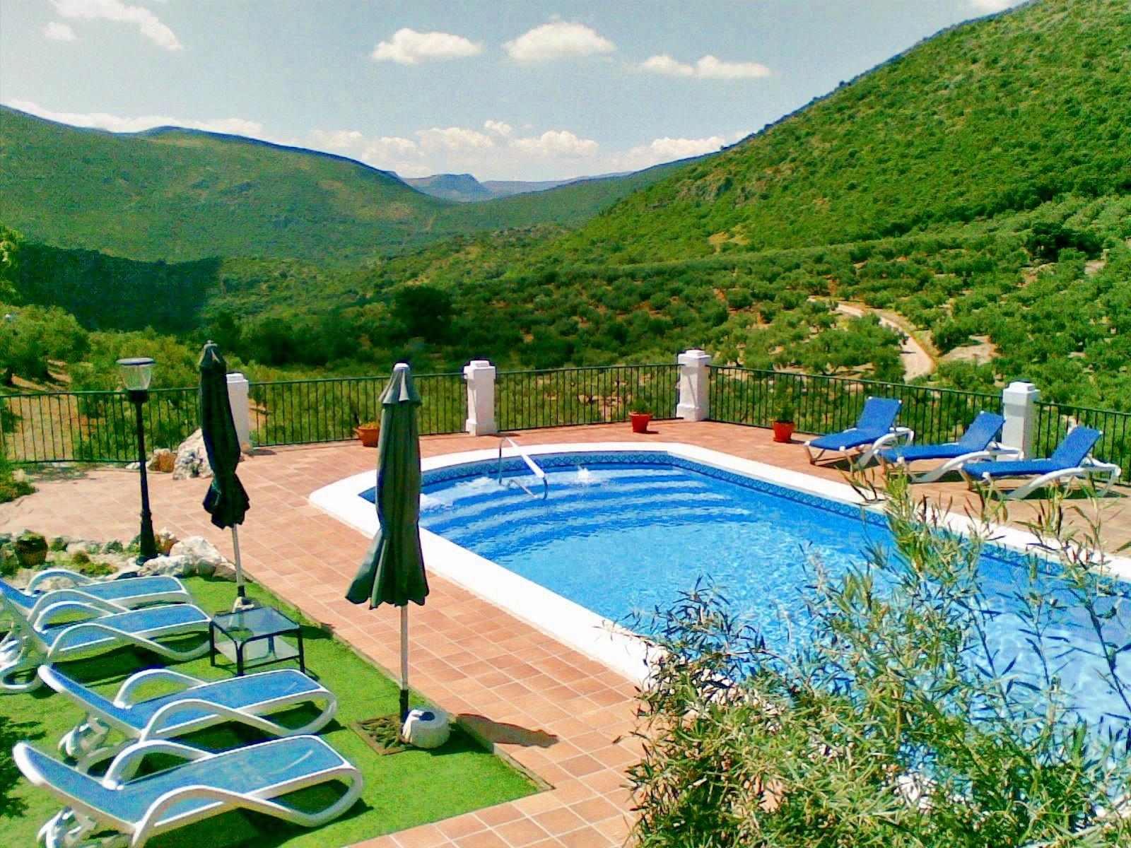 5 Bed Short Term Rental Villa Carcabuey