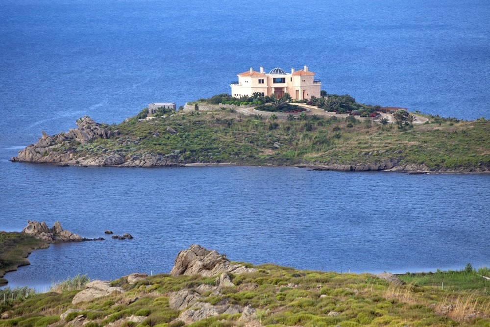 Lesbos vacation rental with