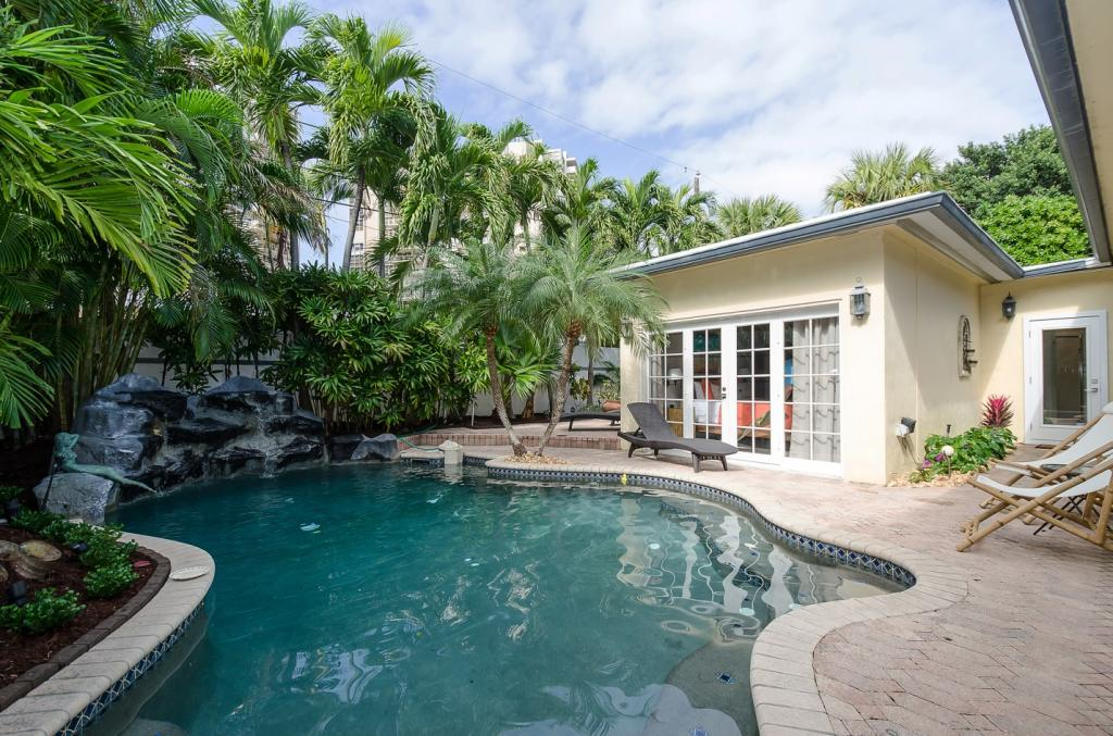 Villa La Mer Ft. Lauderdale Vacation House Rental