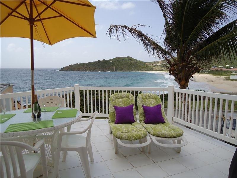 St. Maarten Oceanfront Villa in Guana Bay