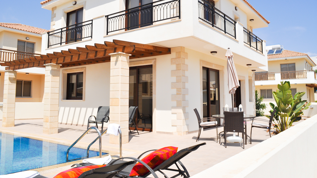 3 Bed Short Term Rental Villa Protaras