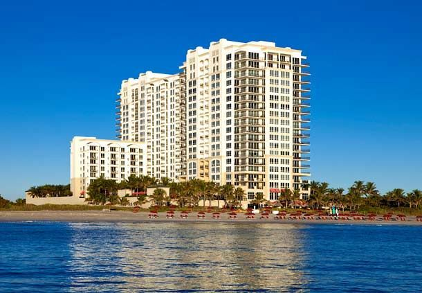 """The Resort"" Luxury Condo at Singer Island -- 2/2 with NE Ocean View!"