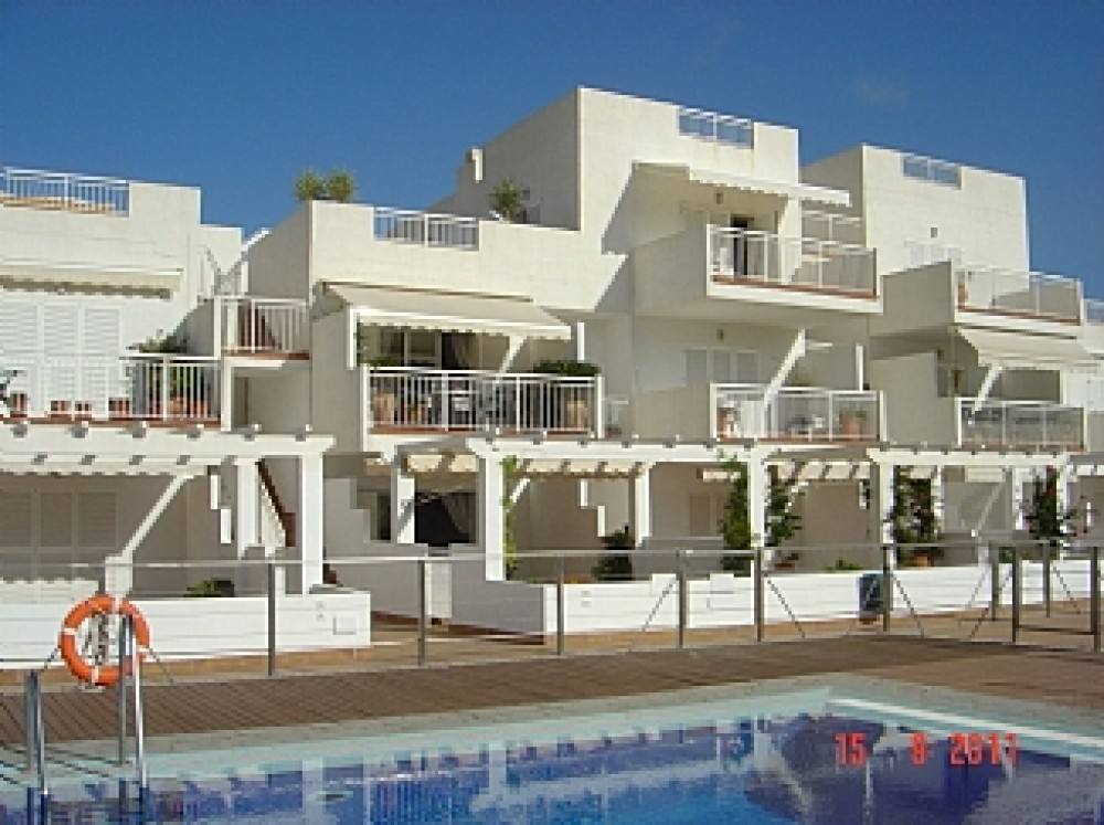 Mojacar Area vacation rental with View from main pool