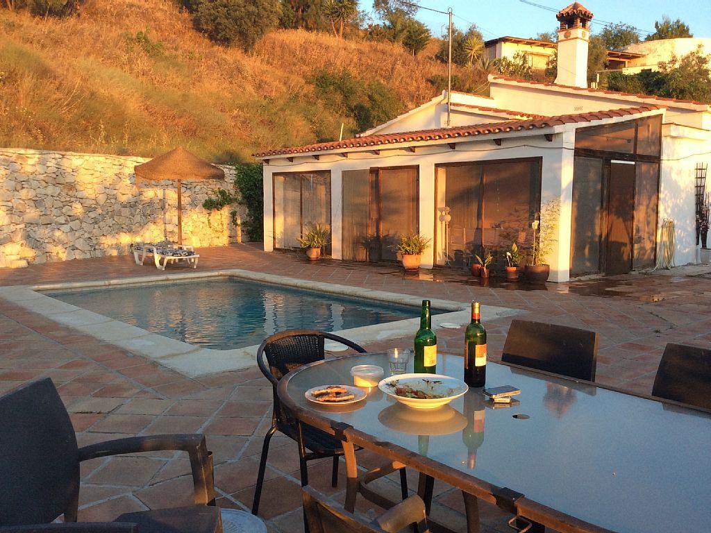 Holiday Rental Spain, Costa del Sol, Sayalonga, Casa la Estrella