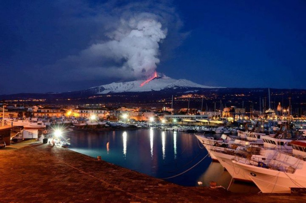 Catania vacation rental with