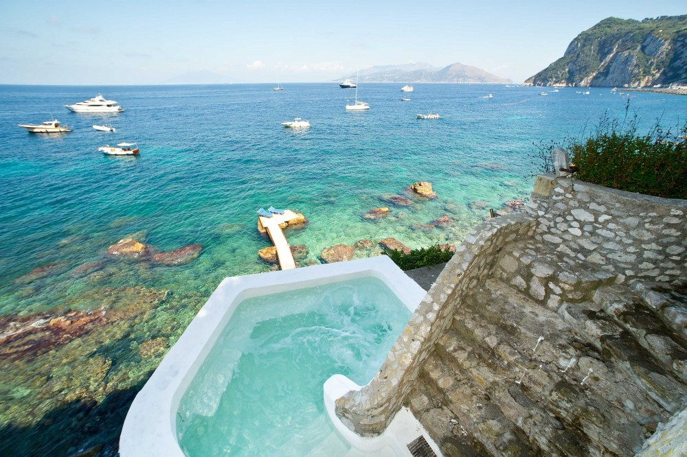 Capri vacation rental with