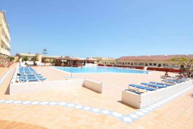 Marina Palace Building near Los Cristianos with ocean views
