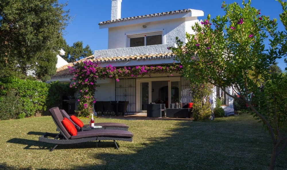 West Costa Del Sol vacation rental with Beautiful private garden