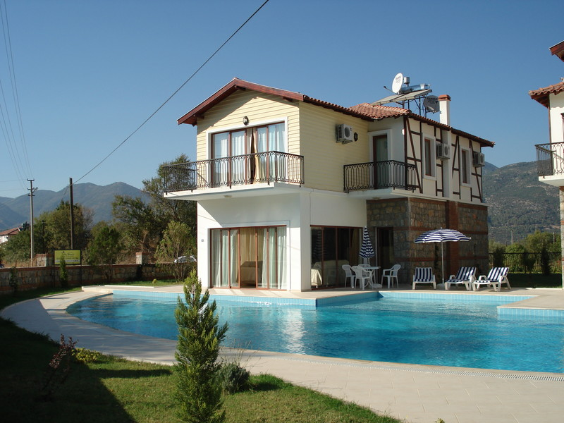 3 Bed Short Term Rental Villa Uzumlu