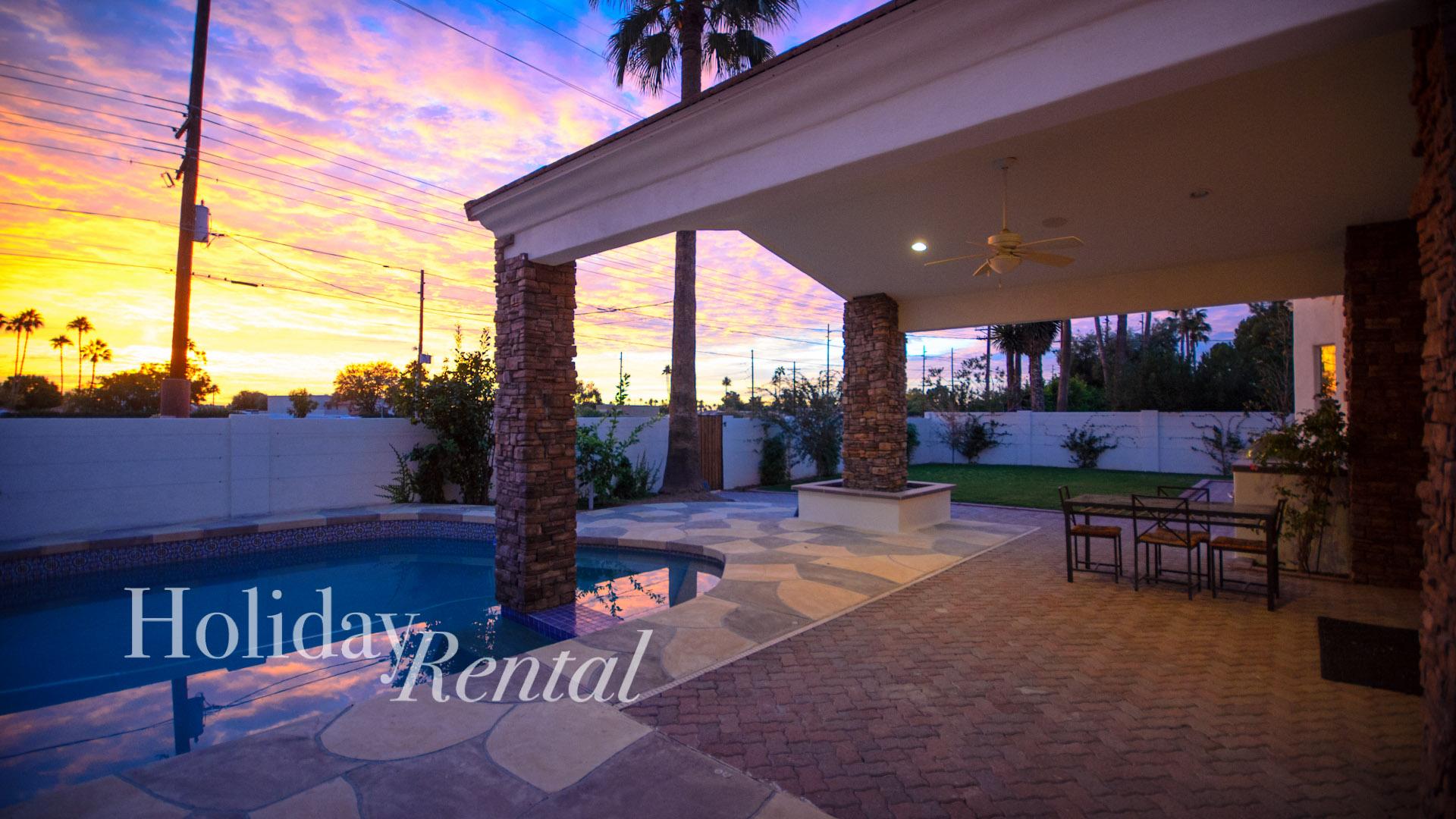 5 Bed Short Term Rental Villa scottsdale
