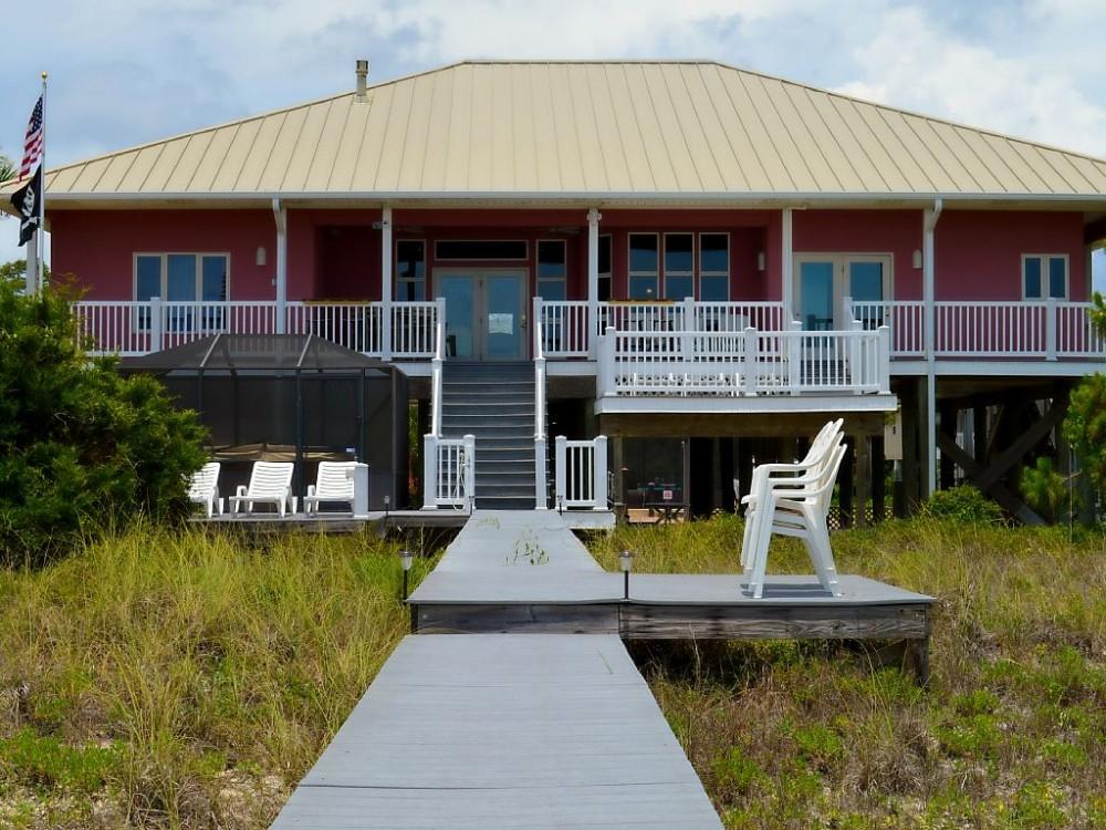 port st joe vacation rental with Beach side