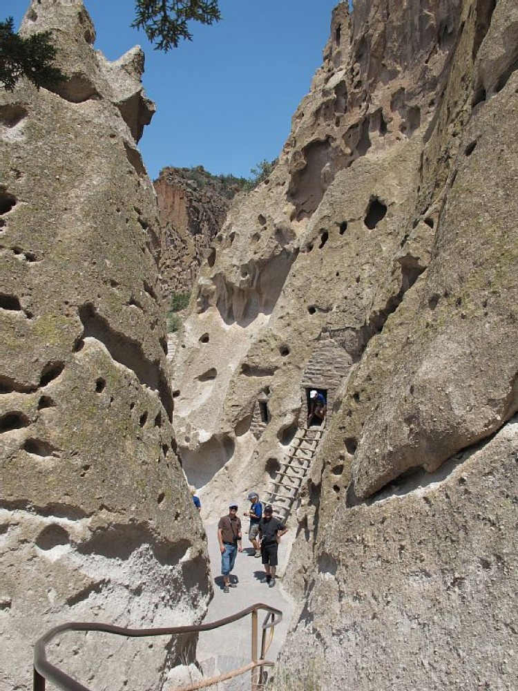Bandelier National Monument one hour away Santa Fe vacation home