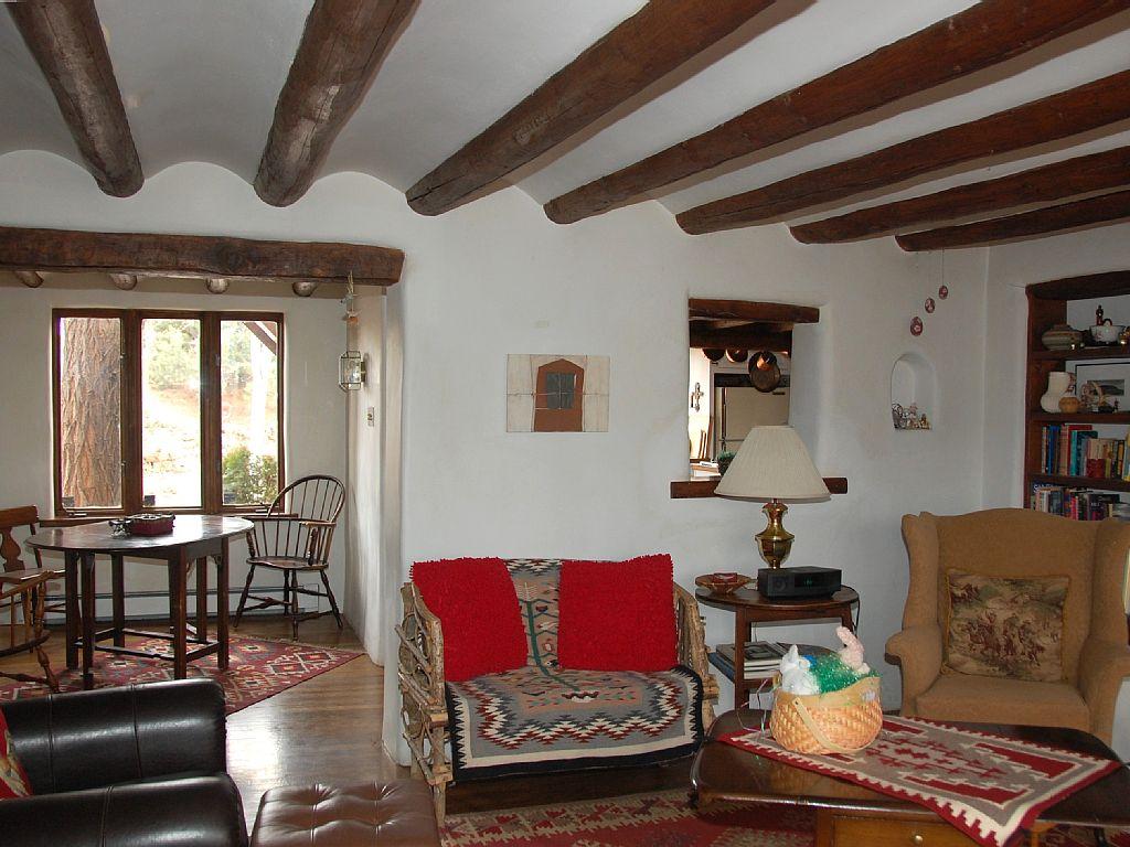 Dining Room from Living Room santa fe vacation home
