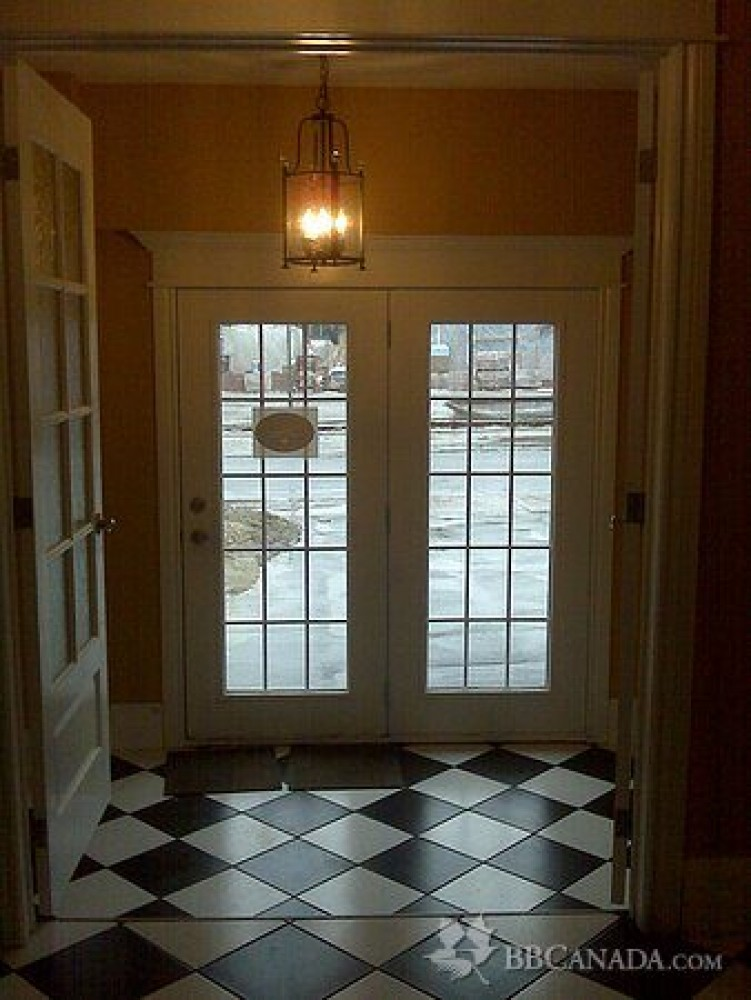 Belleville vacation rental with Main Entrance